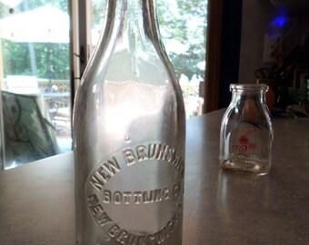 New Brunswick NJ Bottling Co antique soda beer BOTTLE