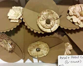 NEW Petal Cones - Kraft Paper Cone (6-count)