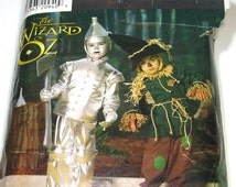 Wizard of Oz Costume Pattern: Tin Man Pattern, Scarecrow Pattern, Child's Wizard of Oz, Simplicity 0634
