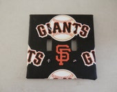 San Francisco Giants double fabric switchplate cover