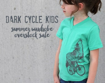 Summer Wardrobe / 10 Dark Cycle Kids Tees Overstock Sale