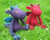 Cuddly Dragon Amigurumi Pattern PDF