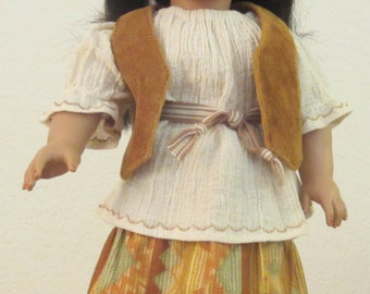 Southwest-style 4-Piece Outfit 18 inch doll
