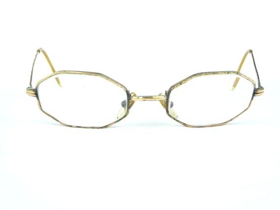 Gold Wire Glasses Frames : vintage eyeglasses 14KGF gold metal frames vintage eyewear