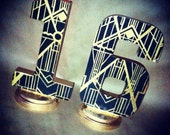 "8"" Art deco Gatsby Inspired letter for weddings, parties, decor, parties, and events!"