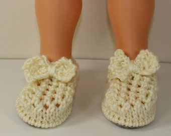 Instant Digital File pdf download knitting pattern Toddler Lacey Bow Sandals knitting pattern by madmonkeyknits