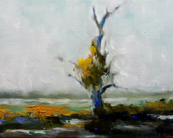 The Dram Tree original oil painting 5 X 7