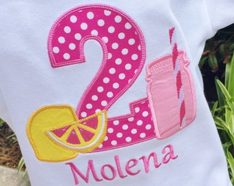 Girls Lemonade Shirt, Lemonade Birthday, Lemonade Shirt,