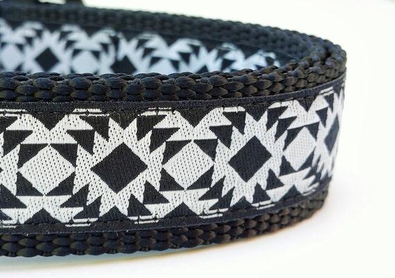Modern Geometric - Dog Collar / Handmade / Adjustable / Pet Accessories / Pet Lover / Gift Idea