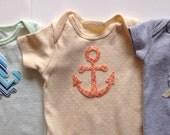 16 Piece Gender Neutral DIY Fabric Iron On Appliqué Set Baby Shower Onesie Decorating Shower Idea