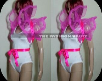 Cosplay  High Drama Net Collar Bolero Wrap Shrug  Perfect for photo prop