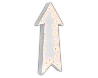 "Light Up Arrow - WHITE - 36"" Vintage Marquee Lights-The Original!"