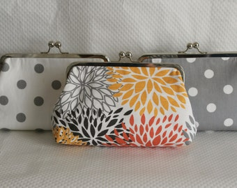 Wedding Clutch - Bridal Clutch - Wedding Purse - Bridesmaid Clutch - Wedding Clutch Sets - Bridal Clutches Sets of 3, 6, 9