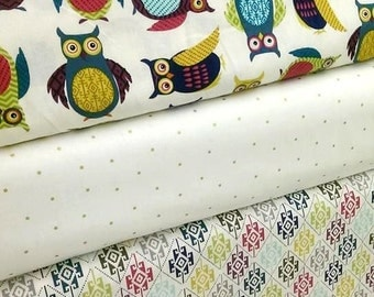baby bedding   girl bedding  in OWL PARTY  with  bumper set , fitted sheet and crib skirt
