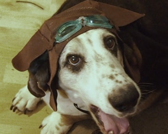 WWI Flying Ace Hat for dogs