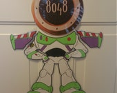 Buzz LIghtyear Toy Story Body Part Stateroom Door Magnets for Disney Cruise