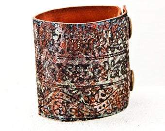 Gypsy Jewelry Boho Bracelets Bohemian Accessories Wrist Cuffs - Women's Leather Bands