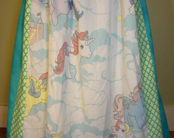 Vintage My Little Pony Long Hippie Skirt