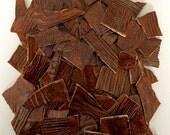 Wood Grain/Bark Ceramic Mosaic Tiles - 1 square foot - High Fired