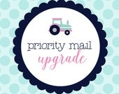 Priority Mail Shiping Upgrade {add on}