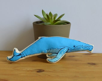 Plush Whale Toy