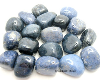 1 Dumortierite Tumbled Stone, Blue, Crystals, Feng Shui, Reiki, Gemstones,