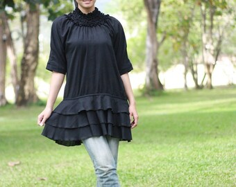 SALE 15% OFF --B017--good day for the wind to blow ( Blouse)