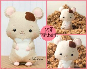 PDF Pattern. Hamster