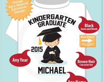Personalized Kindergarten Graduate Shirt Kindergarten Graduation Shirt Child's Graduation Shirt (05062015h)
