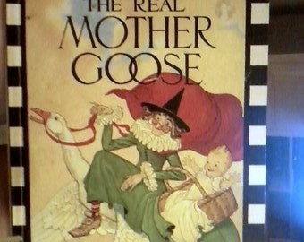 The Real Mother Goose Book of Nursery Rhymes