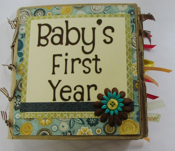 Baby's First Year Scrapbook