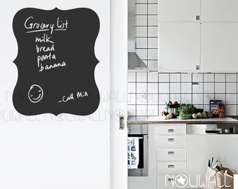 Removable Memo Chalkboard ,Message Board ,Manu Borad Wall Decal Wall Sticker Home Decor