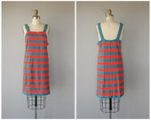 Vintage 60s Dress | 60s Shift Dress | 60s Striped Dress | Mod Dress | 1960s Dress | 1960s Fashion