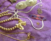Jewelry collection, Supplies to Embellish your Crafts,  Rhinestone Supplies, Assemblage Supplies,