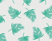 SALE - Camelot Fabrics - Botanical Collection - Fern in White - By the Yard