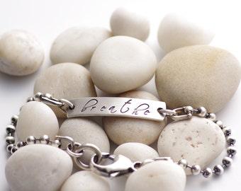 Message to Myself Bracelet
