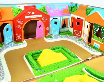Vintage 1965 Mattel Liddle Kiddles Town
