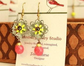 Bright Friligree Earrings - Summer Earrings