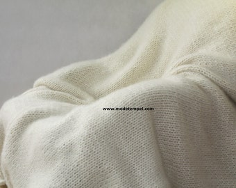 Blanket Cover Rug Super Kid Mohair hand knitted FOR ORDER ONLY