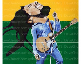 Art Photo Print. Bob Marley.