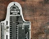 Vintage Foot Measuring Device, Childs Foot Measurer, Brannock Device Company, Junior Model, Cobbler's Tool, Industrial Decor