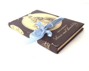 Sense and Sensibility By Jane Austen, Goldfinch Titles, 1940's Vintage Book, Jane Austen Book, Old Jane Austen Book, Austen Wedding Decor
