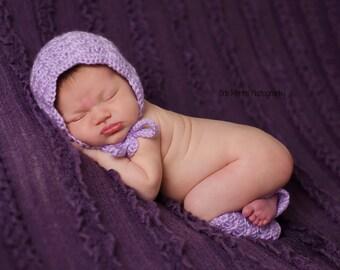 Baby Girl Bonnet, Newborn Hat, Baby Girl Prop, Newborn Bonnet, Crochet Baby Hat, Newborn Girl Props, Baby Bonnet, Baby Leg Warmers