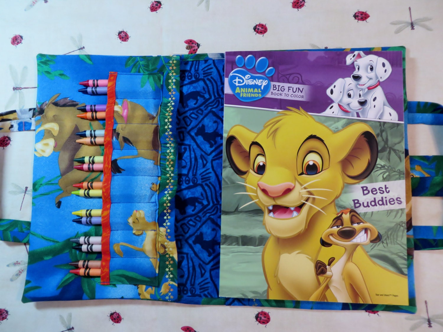 LION KING Take Everywhere Coloring Book