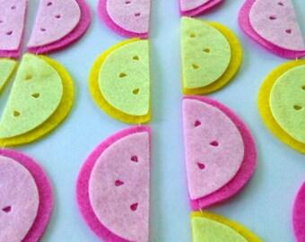 Pink Lemonade Party Garland, Lemon Garland, Fruit Garland, Summer Decoration, Birthday Party, Kitchen Decor