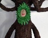 The Tree Mother - OOAK - Gourd Art