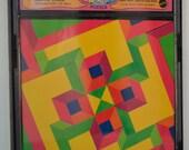 Vintage Mattel Brain Drain Game SQUARE WHERE 1969