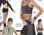 Jalie Multi Sport Skort Hot Pants Shorts Exercise Costume Sewing Pattern 2796