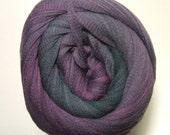 On Line Linie 346 Arona Purple 102 100% Cotton Soft Ribbon Yarn 100 Gram