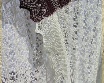 The Heritage Scarf (or Shawl) PATTERN PDF